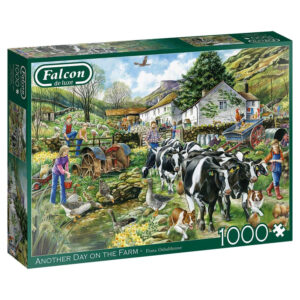 Puzzel Falcon Another Day Farm 1000