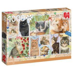Puzzel Franciens Katten 1000