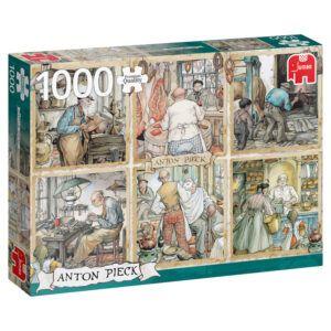 Puzzel Anton Pieck 1000