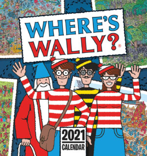 Wheres Wally Easel Kalender 2021