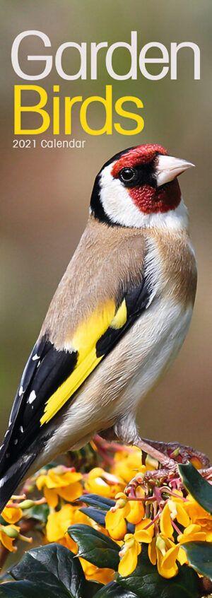 Garden Birds Slimline Kalender 2021