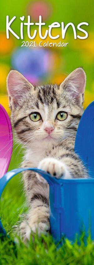 Kittens Slimline Kalender 2021