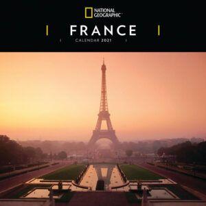 France National Geographic Kalender 2021