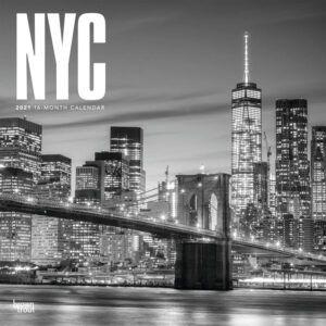 New York City B&W Kalender 2021
