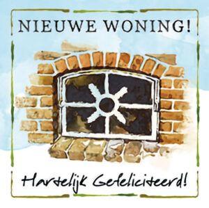 Kaart R. Poortvliet B Nieuwe Woning