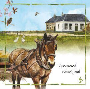 Kaart R. Poortvliet B Voor Jou Trekpaard