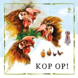 Kaart R. Poortvliet B Kip Kop Op