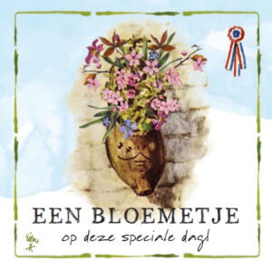 Kaart R. Poortvliet B Bloemetje