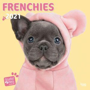 French Bulldogs Studio Pets Kalender 2021