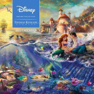 Disney Dreams Kinkade Kalender 2021