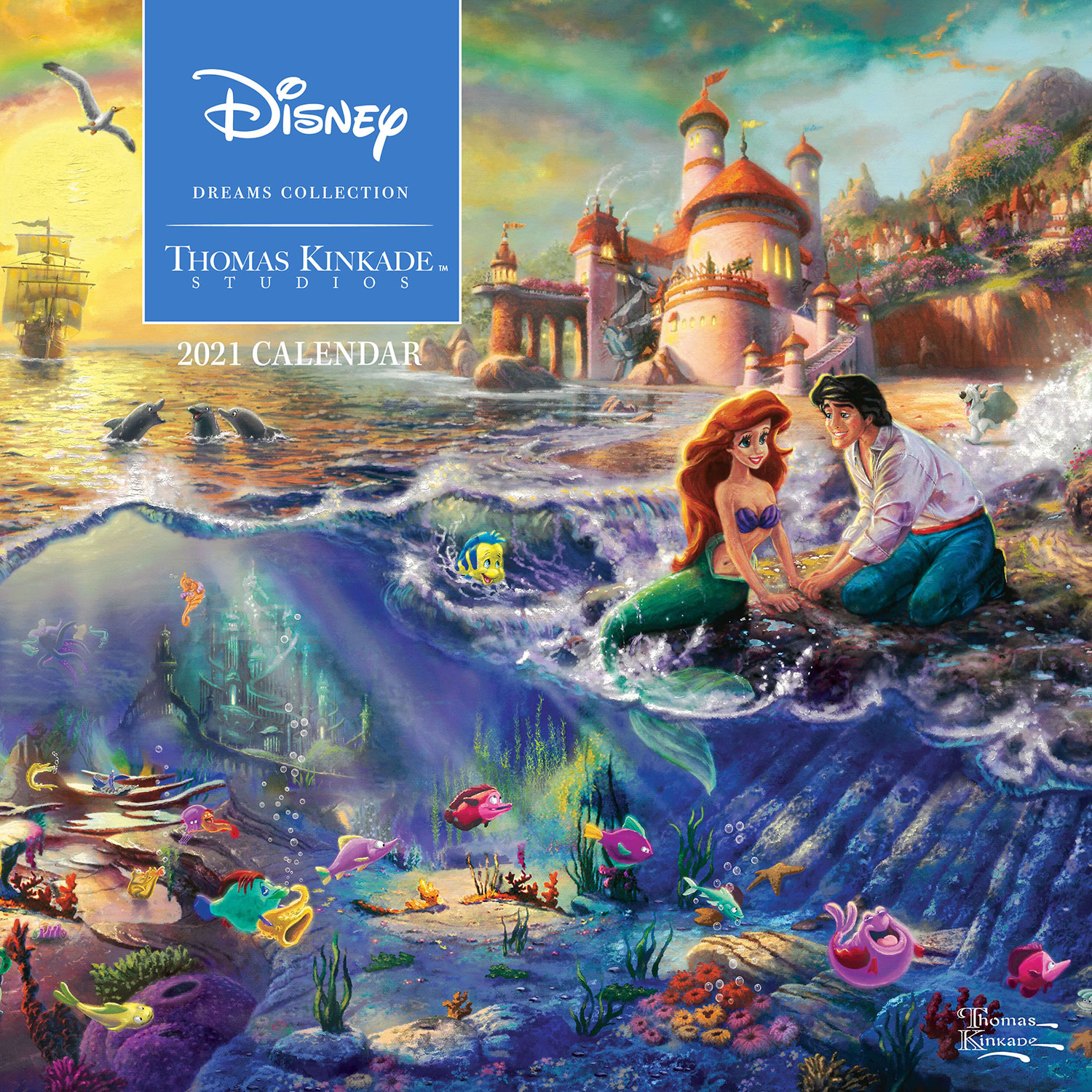 Disney Dreams Kinkade Kalender 2021