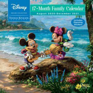 Disney Dreams Kinkade SQ Planner 2021