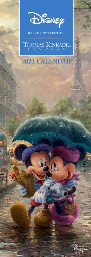 Disney Dreams Kinkade Slimline Kalender 2021