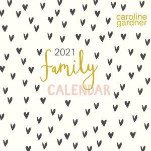 Hearts Family Orgamizer Kalender 2021