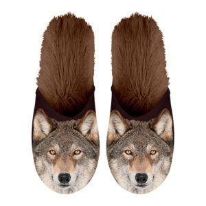 Pantoffel Wolf 35-38