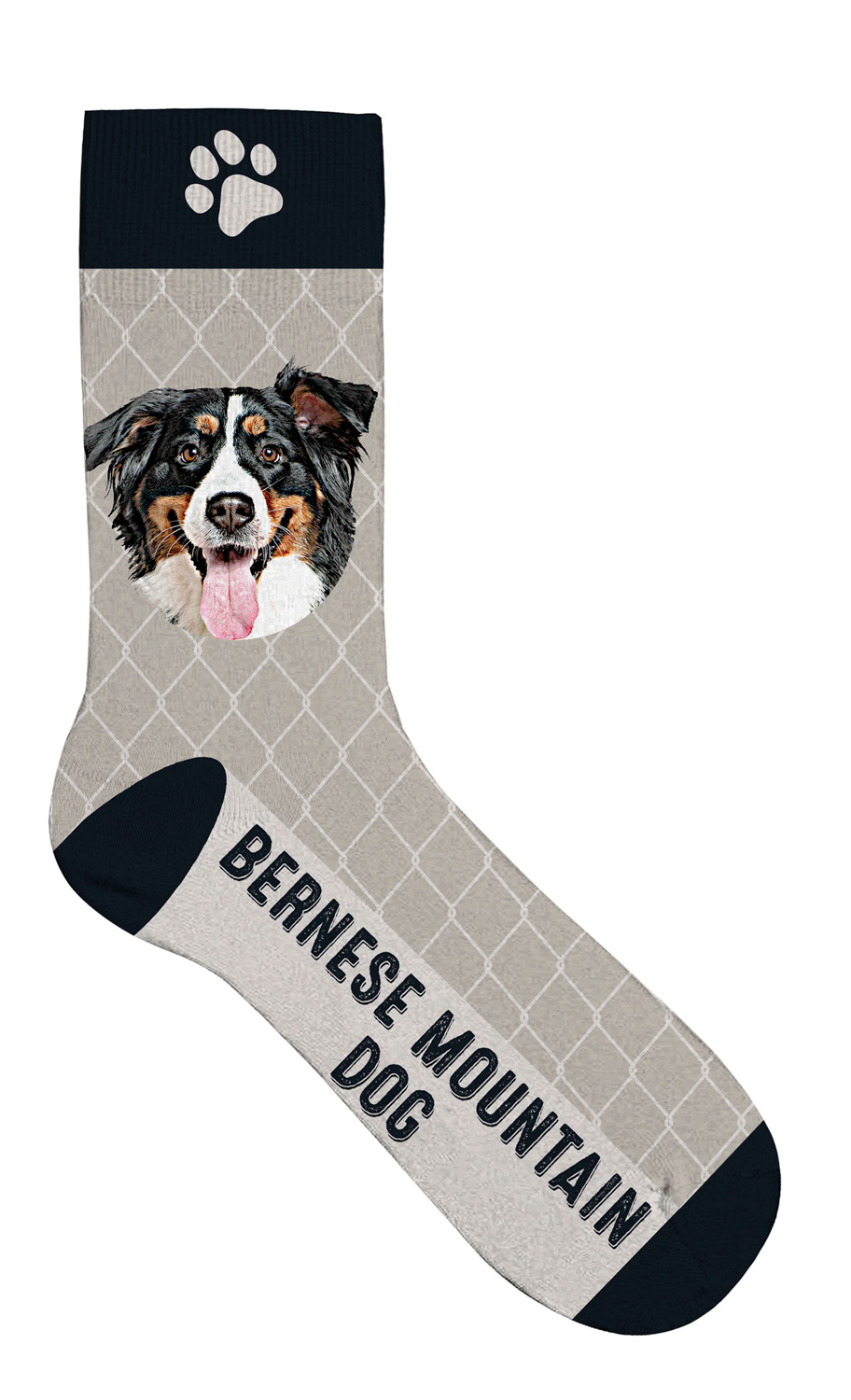 Sock Bernese Mountain Dog 42-45 1