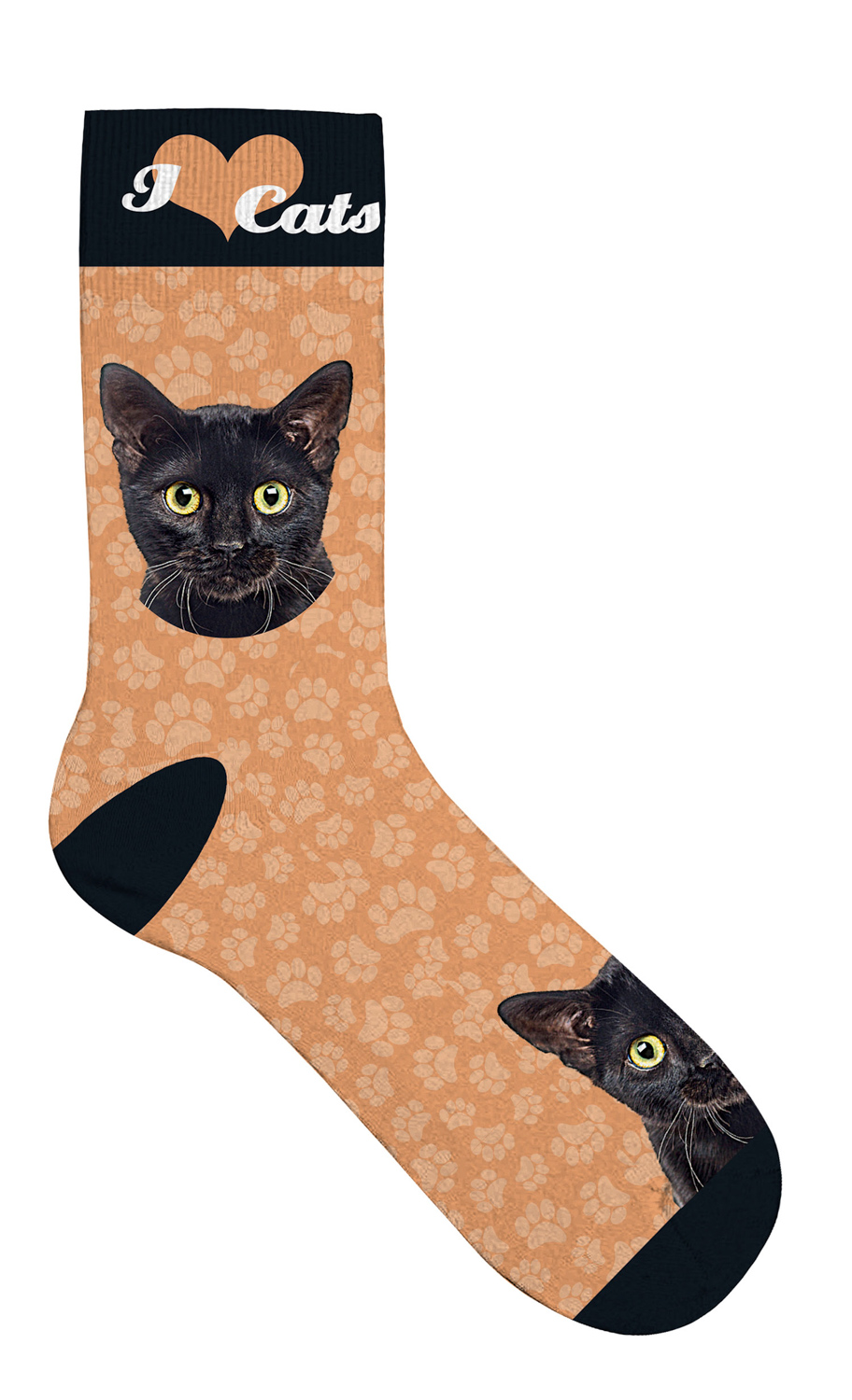 Sock Black Cat 42-45 1