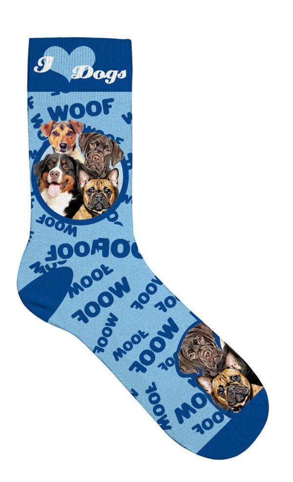 Sock Dog Collage 42-45