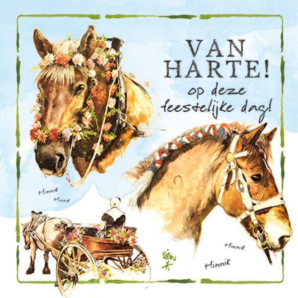 Kaart R. Poortvliet B Van Harte