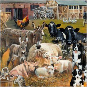 Kaart CS Farmyard Animals