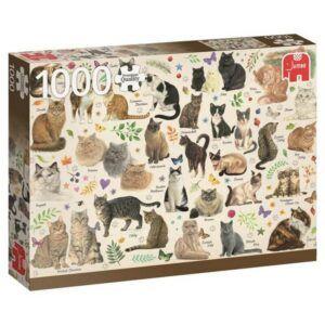 Puzzel Francien Cats Poster 1000