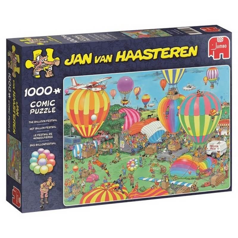 Puzzel JvH Het Ballon Festival 1000