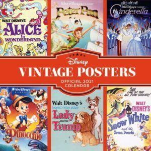 Disney Vintage Posters Kalender 2021