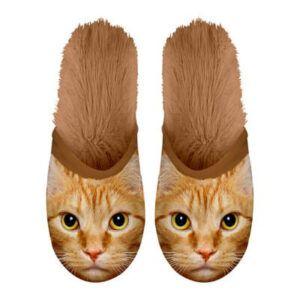 Pantoffel Kat Rood 35-38