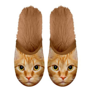 Pantoffel Kat Rood 39-42