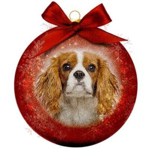 Kerstbal Frosted Classic Cavalier