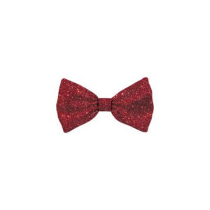 Bow Tie Glitter Red Cat S