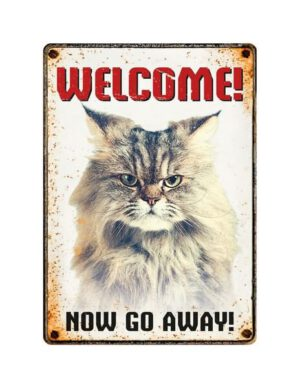 Sign Metal Grumpy Cat