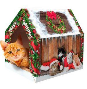 Xmas Cat house
