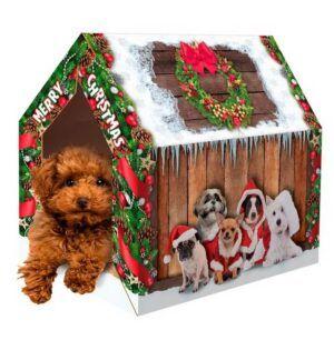 Xmas Dog house