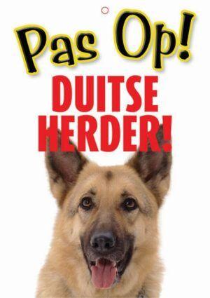 Waakbord Duitse Herder