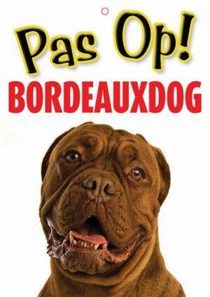 Waakbord Bordeaux Dog