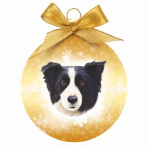 Kerstbal Border Collie