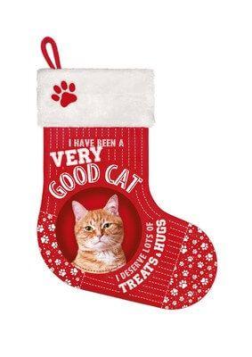Stocking Kat Rood