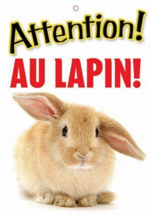 Panneau Lapin