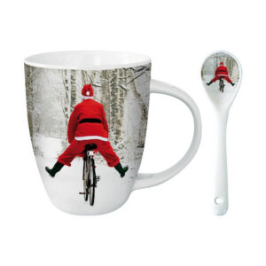 Choc Mok Cycling Santa