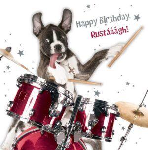 Sq Kaart Birthday Rustaagh!