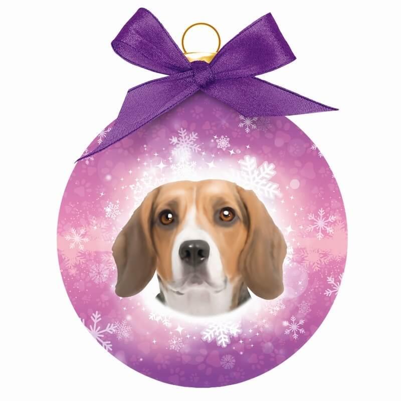 Kerstbal Beagle 1