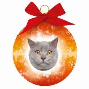 Kerstbal Britse Korthaar Kat